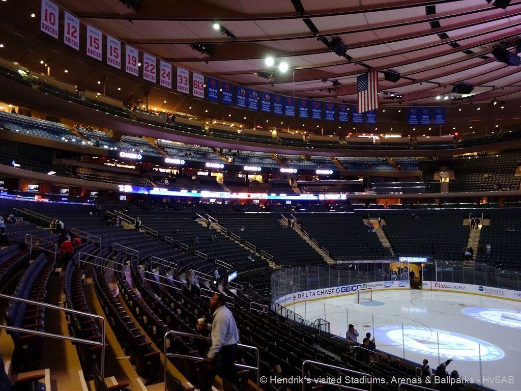 New York Rangers Madison Square Garden Hvsab Hendrik S Visited Stadiums Arenas Ballparks