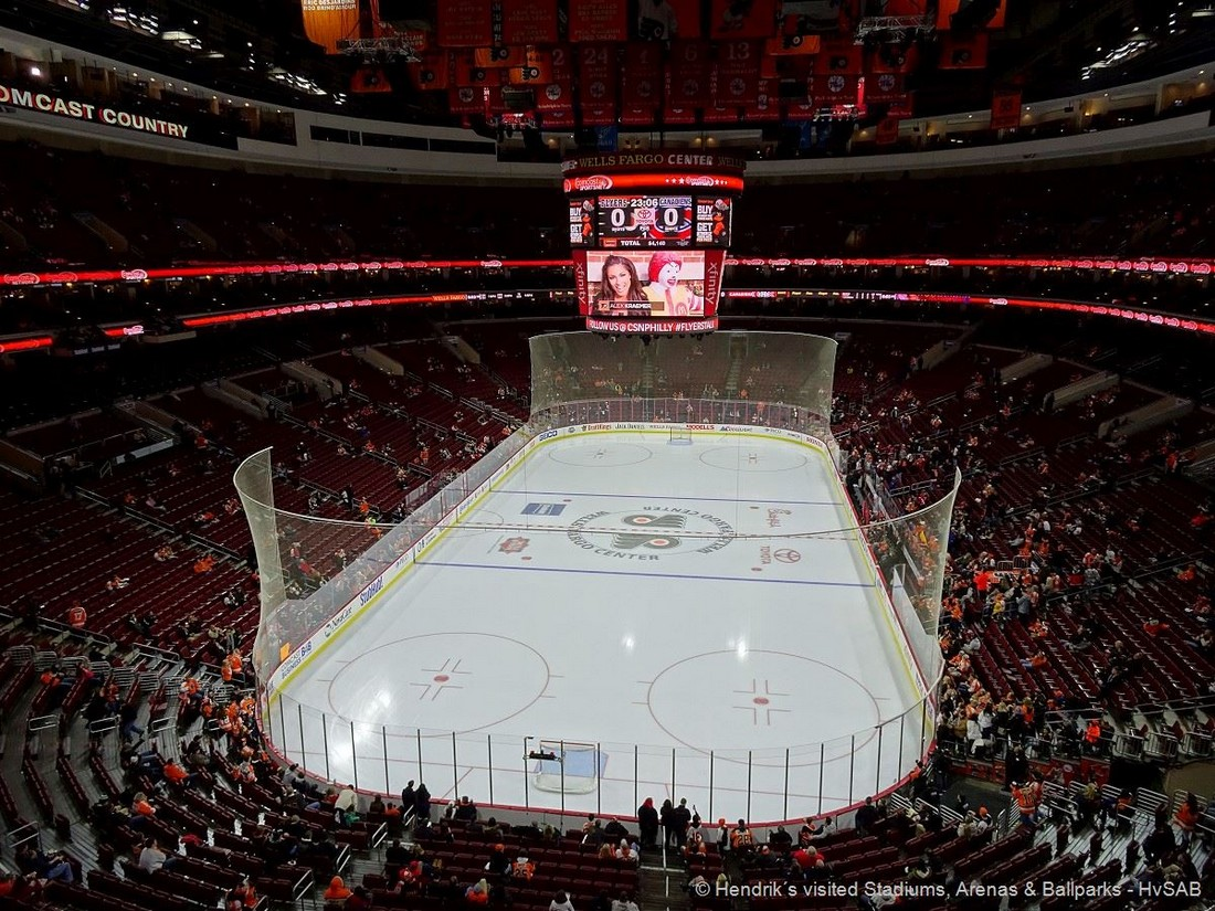 Philadelphia flyers wells fargo center hvsab hendrik s visited stadiums arenas ballparks