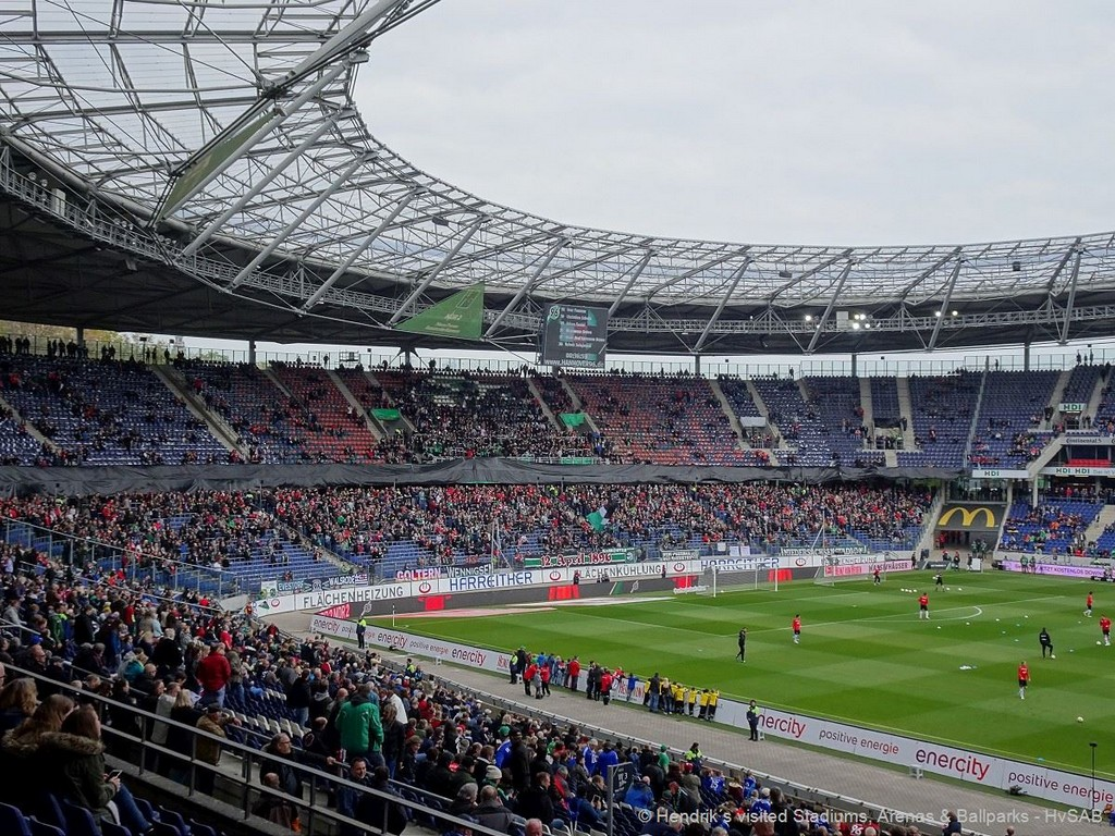 Hannover 96 - HDI-Arena - HvSAB - Hendrik´s visited ...