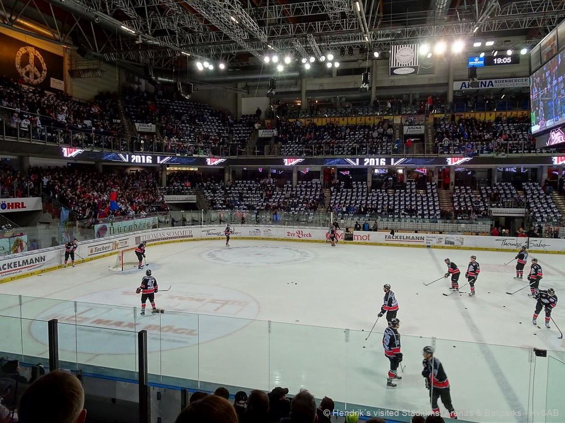Nürnberg Ice Tigers - Arena Nürnberger Versicherung ...  Nürnberg Ice T...