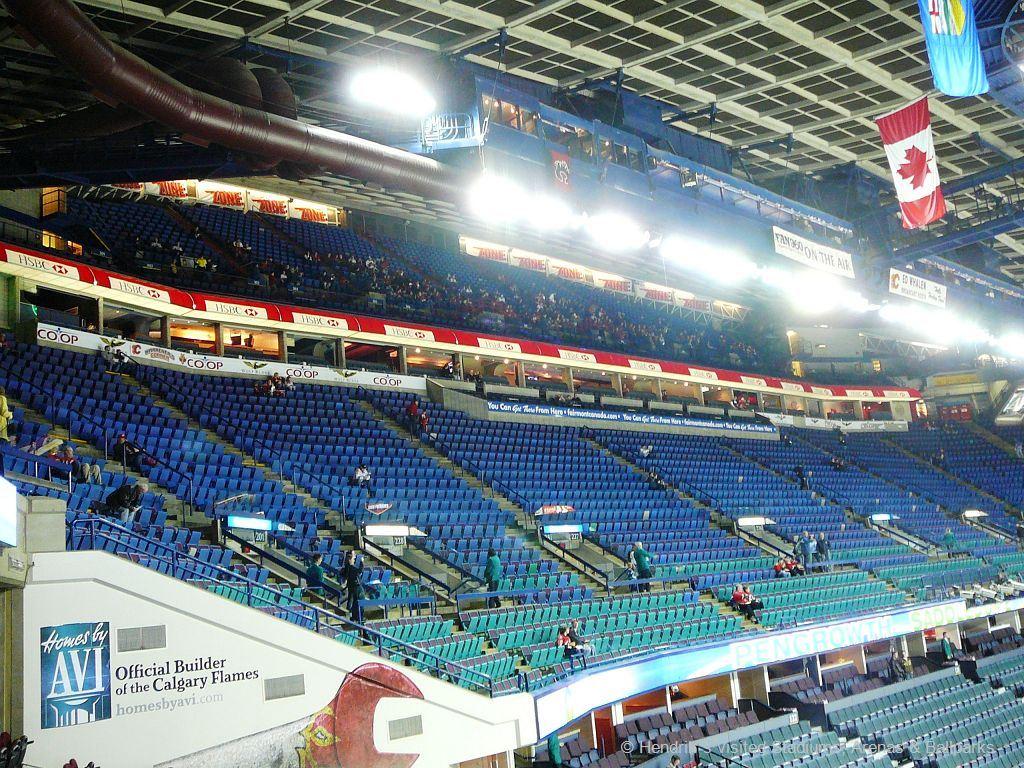 Calgary Flames Scotiabank Saddledome Hvsab Hendrik 180 S